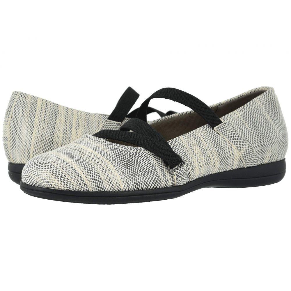 トロッターズ Trotters レディース スリッポン・フラット シューズ・靴【Della】Grey Multi