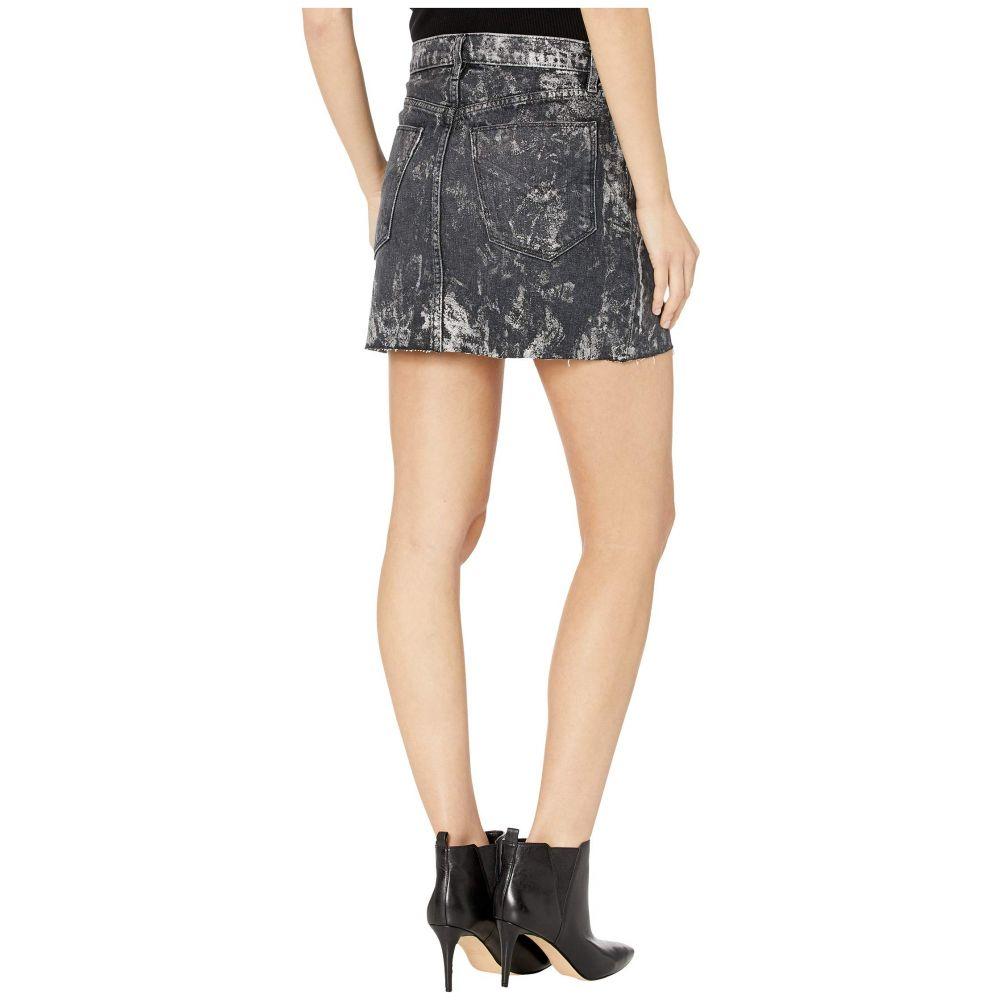 ハドソンジーンズ Hudson Jeans レディース スカートViper Skirt in Blackened MetalIyv6bfgY7