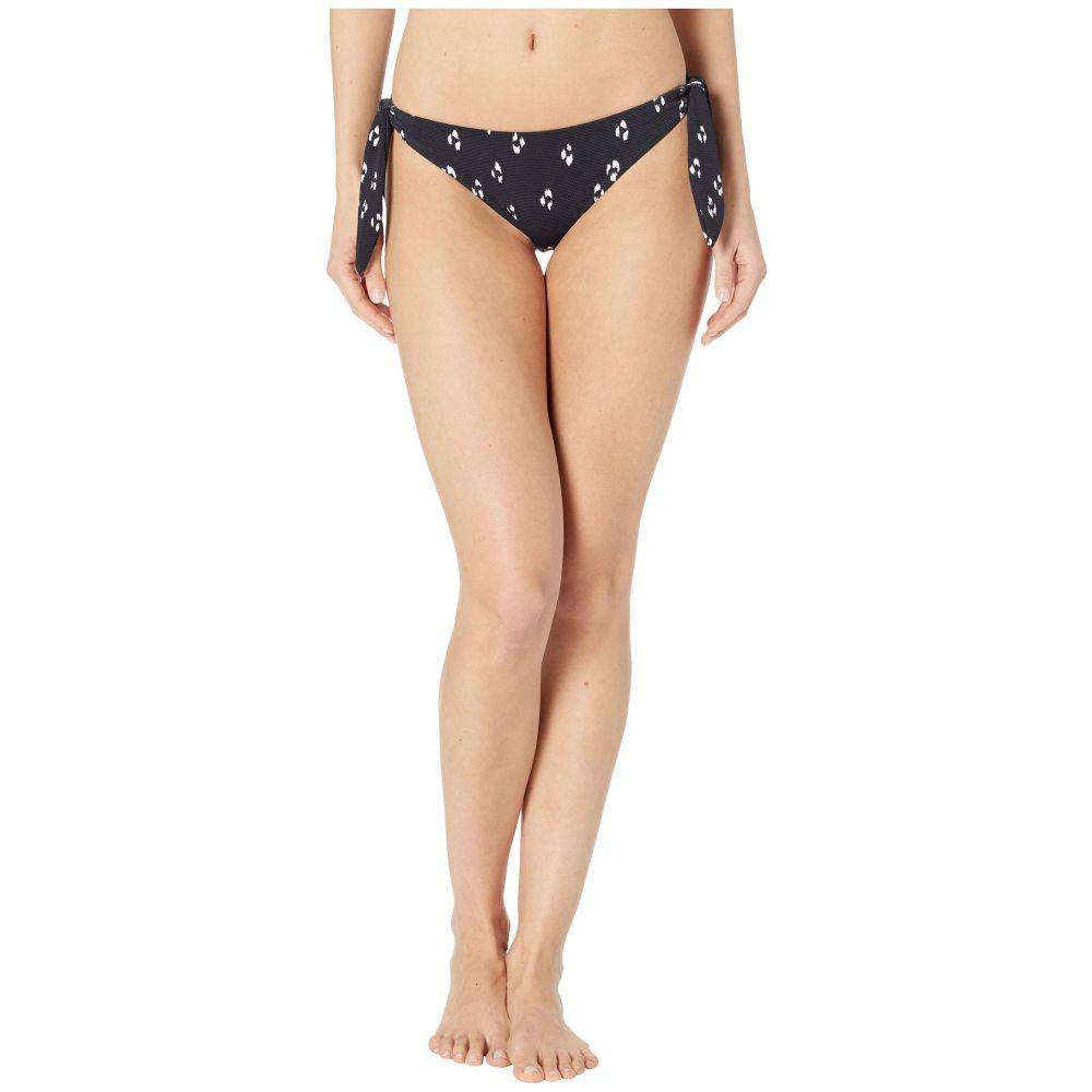 エバージェイ Eberjey レディース ボトムのみ 水着・ビーチウェア【Animal Spot Ursula Bikini Bottoms】Black/White