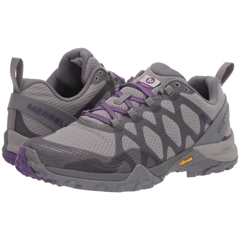 メレル Merrell レディース ハイキング・登山 シューズ・靴【Siren 3 Waterproof】Charcoal