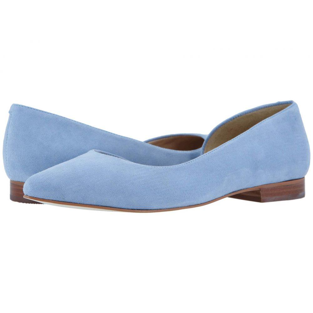 ウォーキング クレードル Walking Cradles レディース スリッポン・フラット シューズ・靴【Raya】Blue Mist Suede