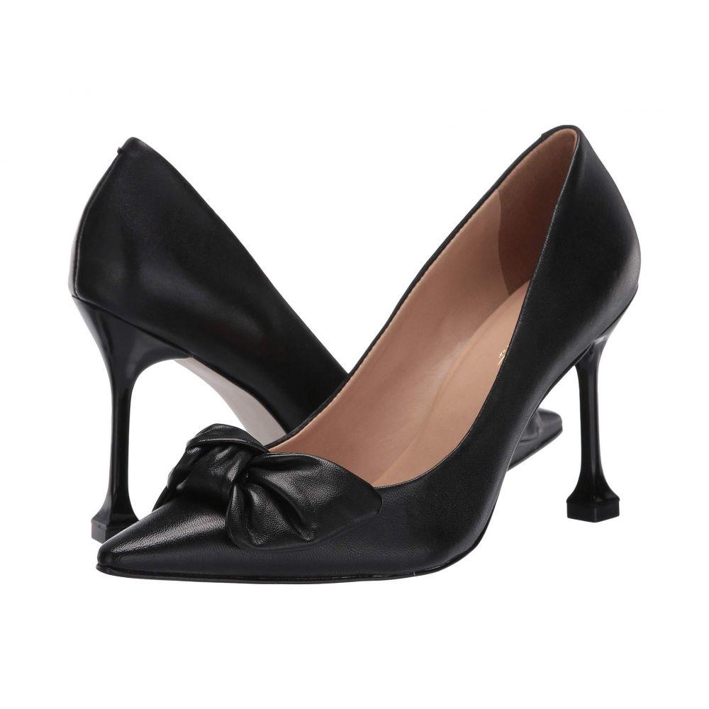 マッテオ マッシモ Massimo Matteo レディース パンプス シューズ・靴【Bow Pointy Toe Pump】Black