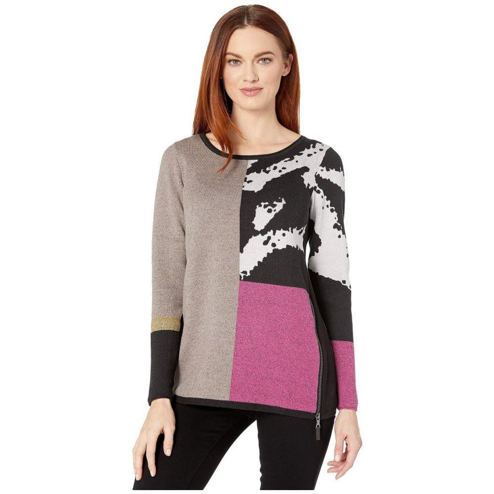ニックゾー NIC+ZOE レディース ニット・セーター トップス【Block It Off Sweater】Multi