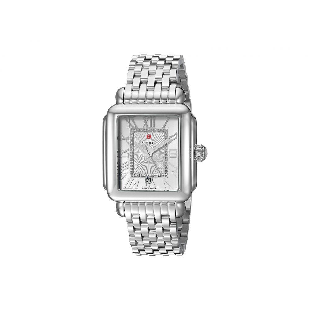 ミッシェル Michele レディース 腕時計 【Deco Madison Diamond Dial Watch】Silver