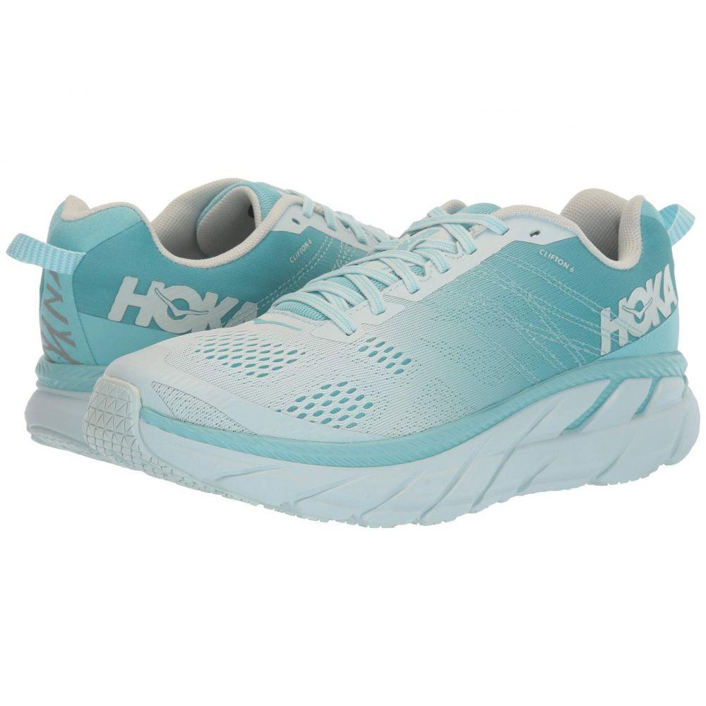 ホカ オネオネ Hoka One One レディース ランニング・ウォーキング シューズ・靴【Clifton 6】Antigua Sand/Wan Blue