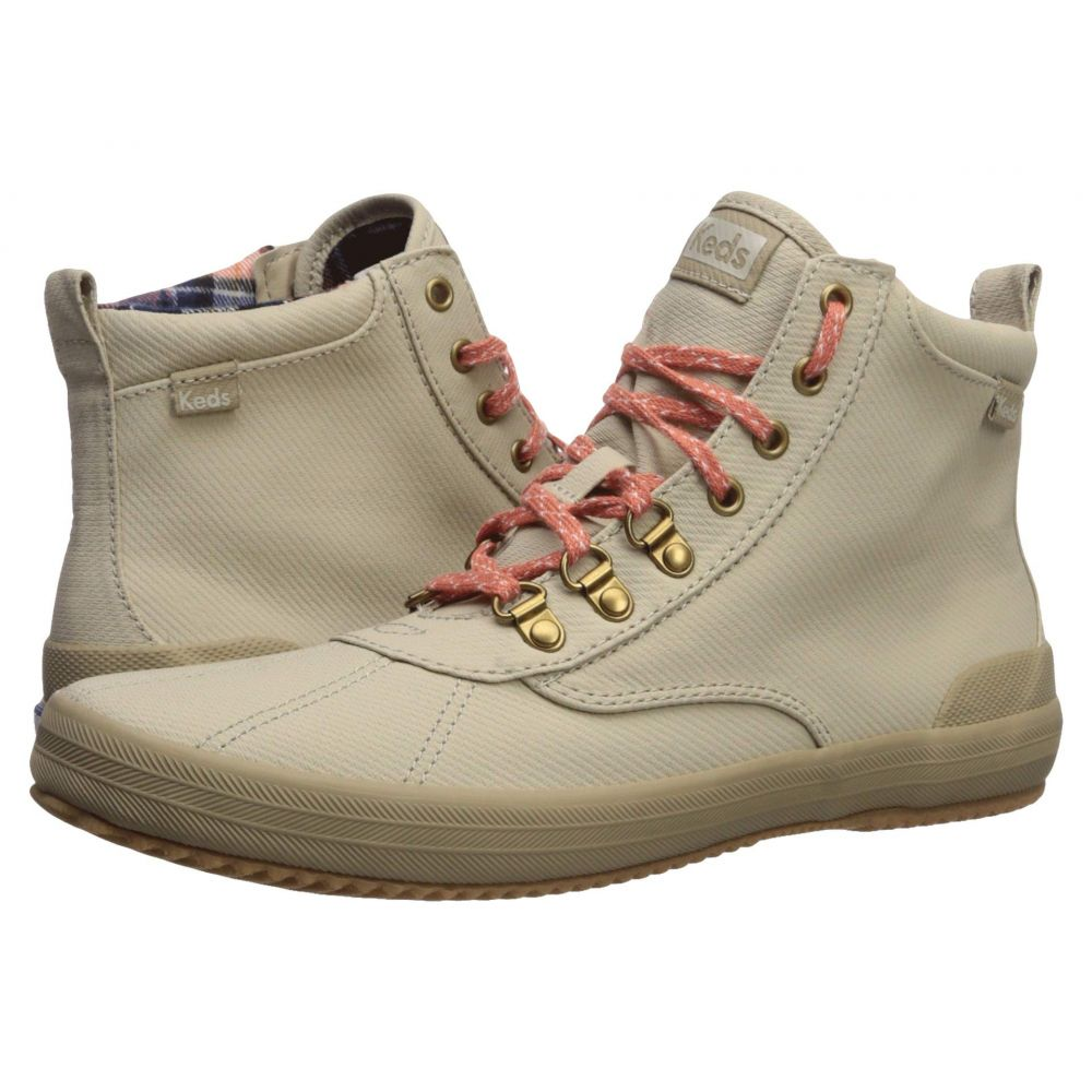 ケッズ Keds レディース ブーツ シューズ・靴【Scout Boot II Matte Twill WX】Taupe
