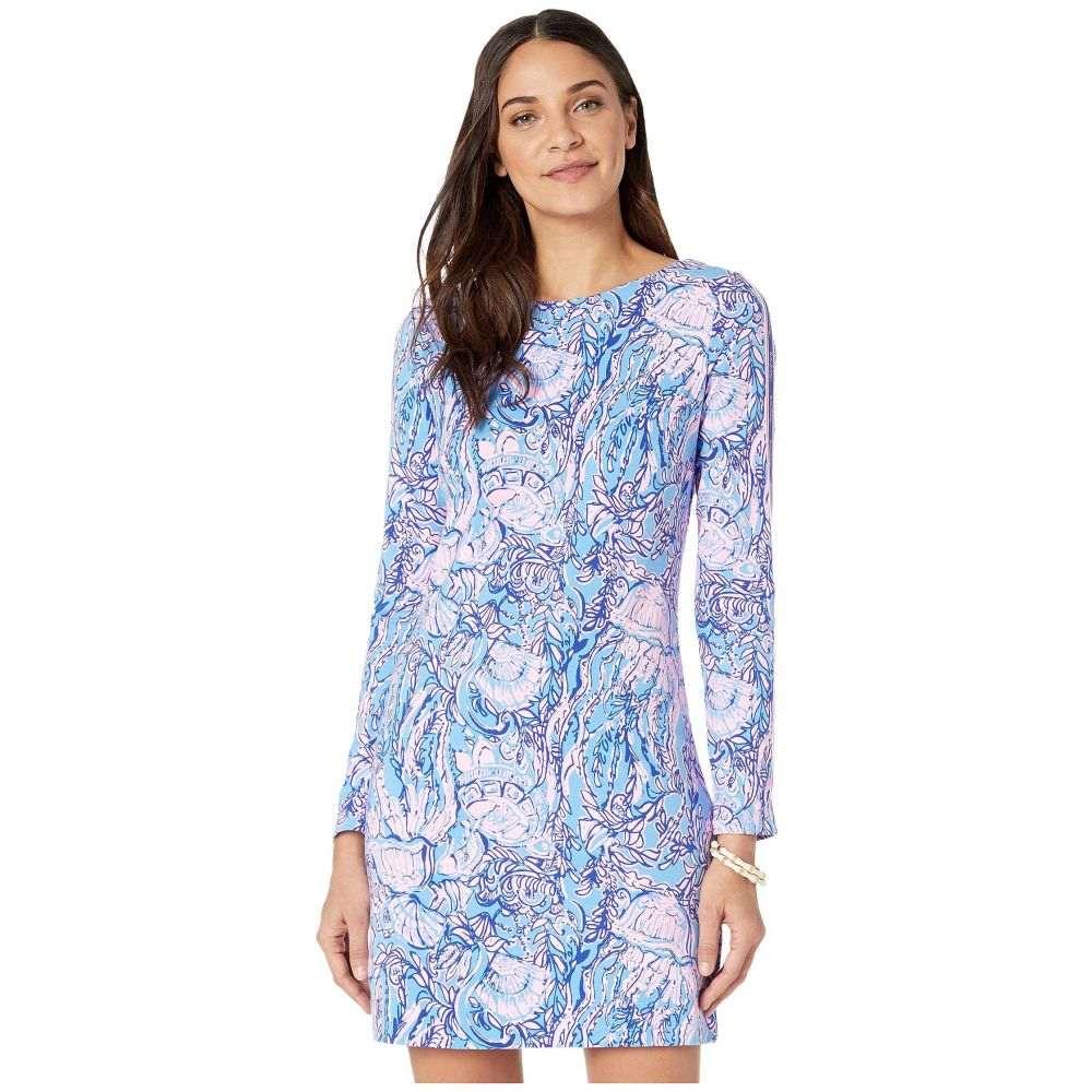 リリーピュリッツァー Lilly Pulitzer レディース ワンピース ワンピース・ドレス【Beline Dress】Lapis Lazuli Horseshoe Bay