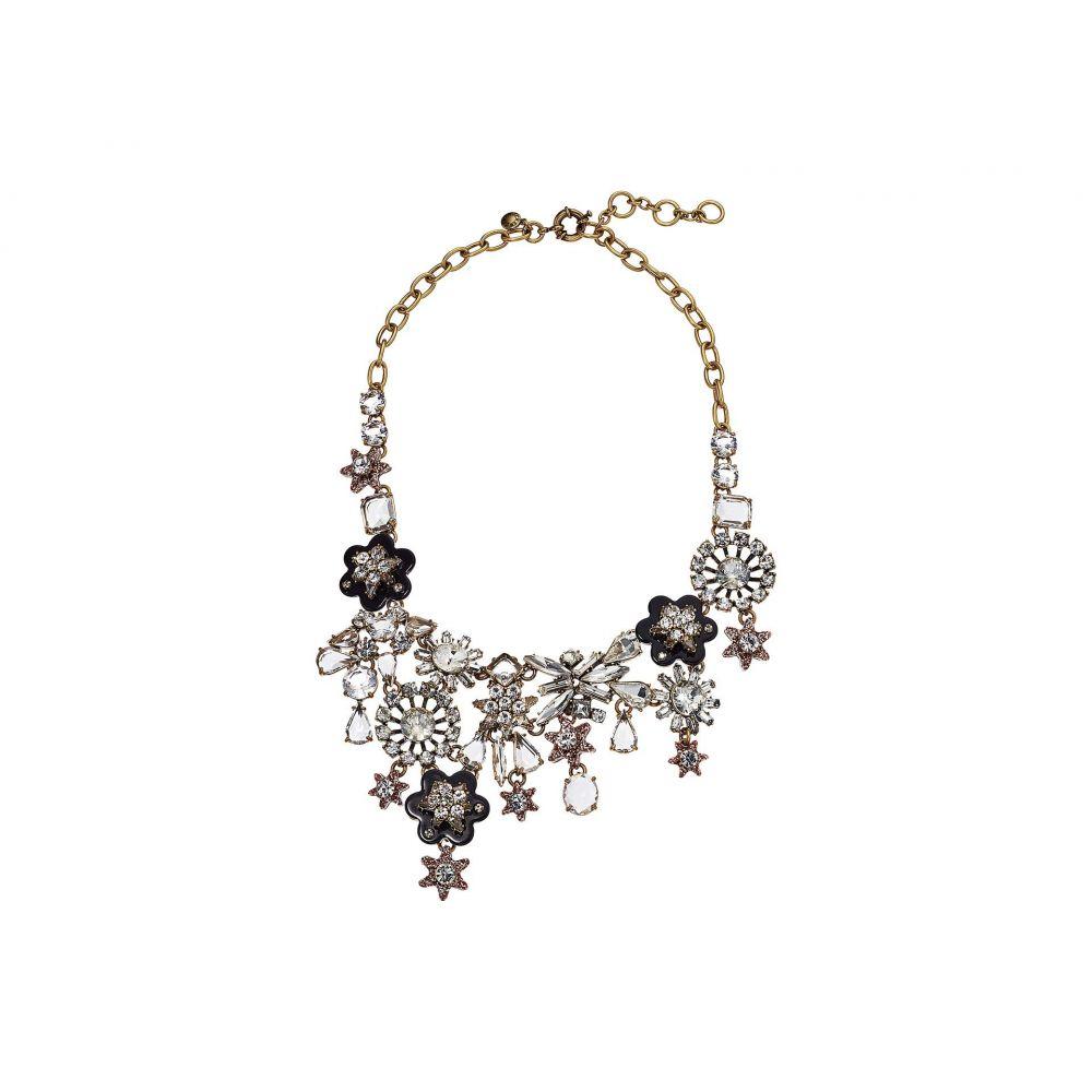 ジェイクルー J.Crew レディース ネックレス ジュエリー・アクセサリー【Starflower Collage Necklace】Crystal
