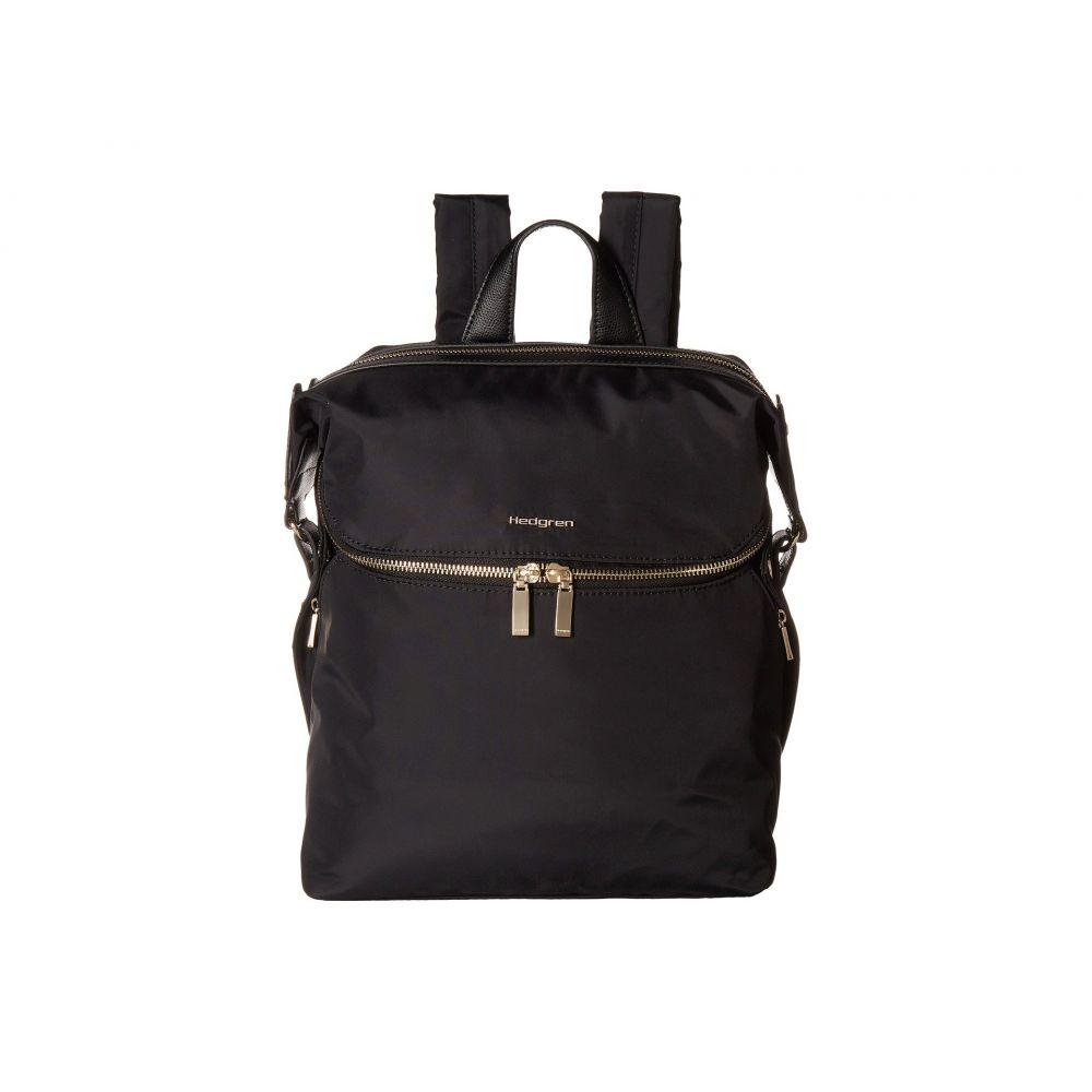 ヘデグレン Hedgren レディース バックパック・リュック バッグ【Paragon Medium Backpack】Black