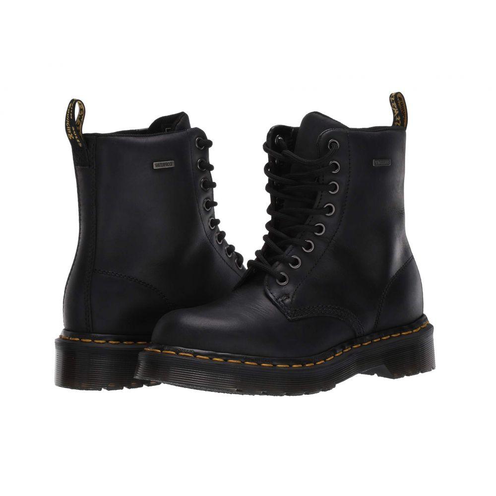 ドクターマーチン Dr. Martens レディース ブーツ シューズ・靴【Waterproof 1460】Black Republic Waterproof