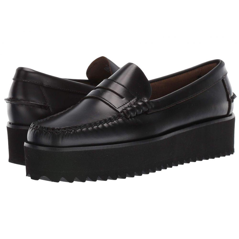 セバゴ Sebago レディース ローファー・オックスフォード ウェッジソール シューズ・靴【Dan Wedge】Black