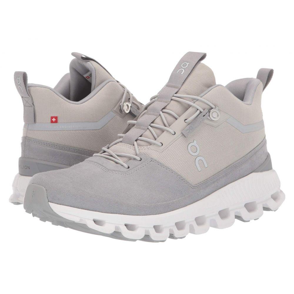 オン On レディース ランニング・ウォーキング シューズ・靴【Cloud Hi】Glacier/Grey