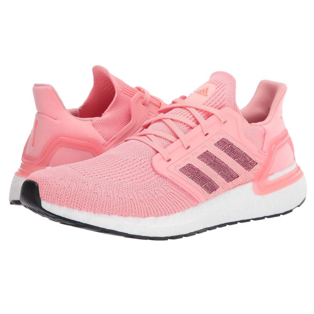 アディダス adidas Running レディース ランニング・ウォーキング シューズ・靴【Ultraboost 20】Glory Pink/Maroon/Signal Coral