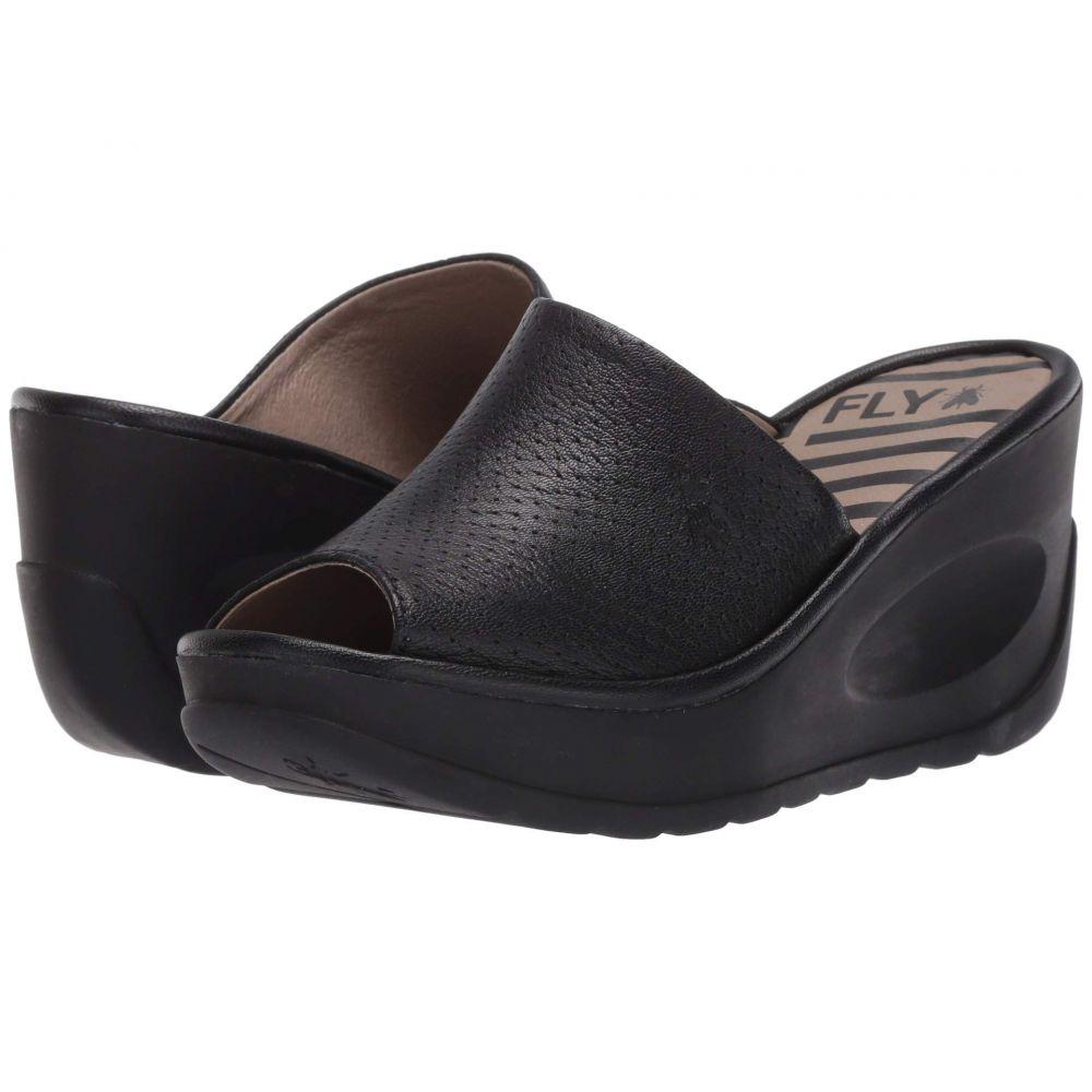 フライロンドン FLY LONDON レディース サンダル・ミュール シューズ・靴【JAVI149FLY】Black Mousse