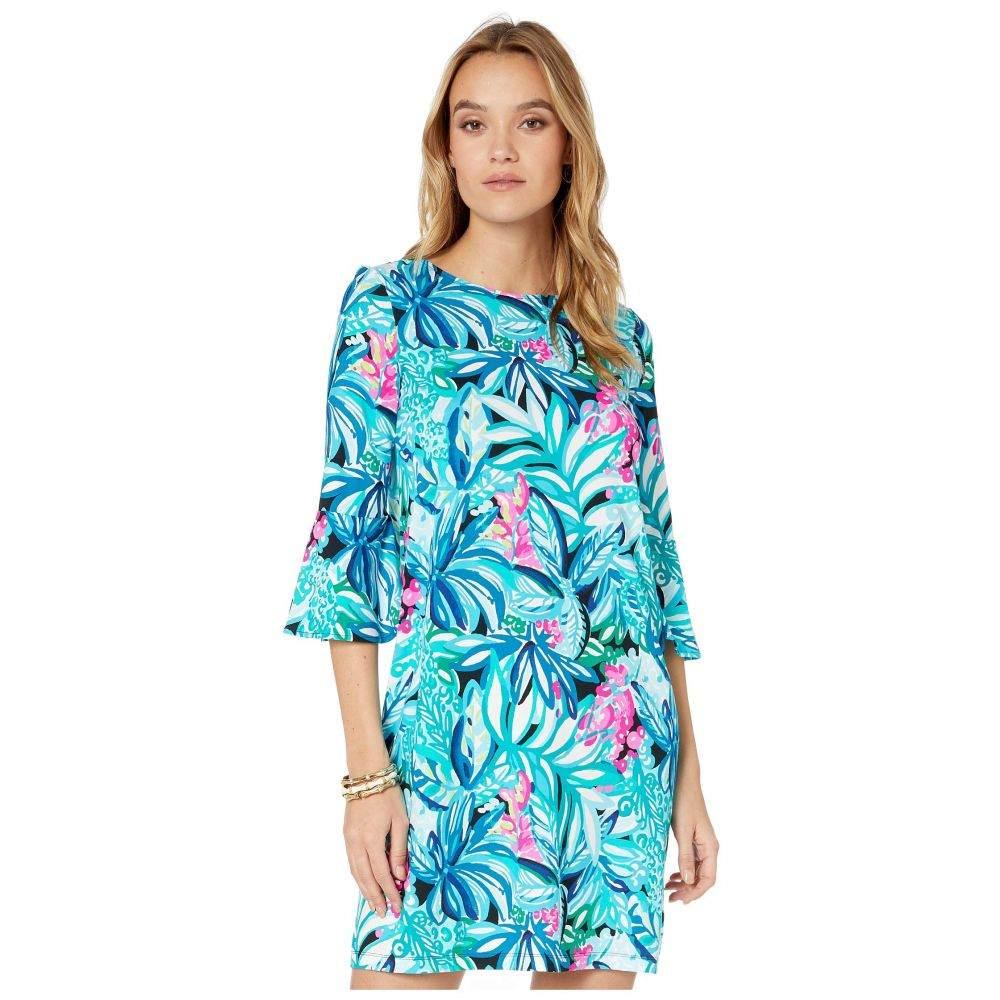 リリーピュリッツァー Lilly Pulitzer レディース ワンピース ワンピース・ドレス【Ophelia Swing Dress】Maldives Green Hype It Up