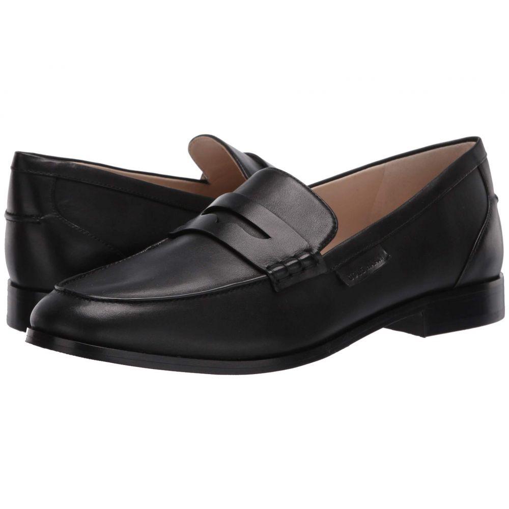 コールハーン Cole Haan レディース ローファー・オックスフォード シューズ・靴【Mckenna Penny Loafer】Black Burnished Leather Tonal Stitch/Black