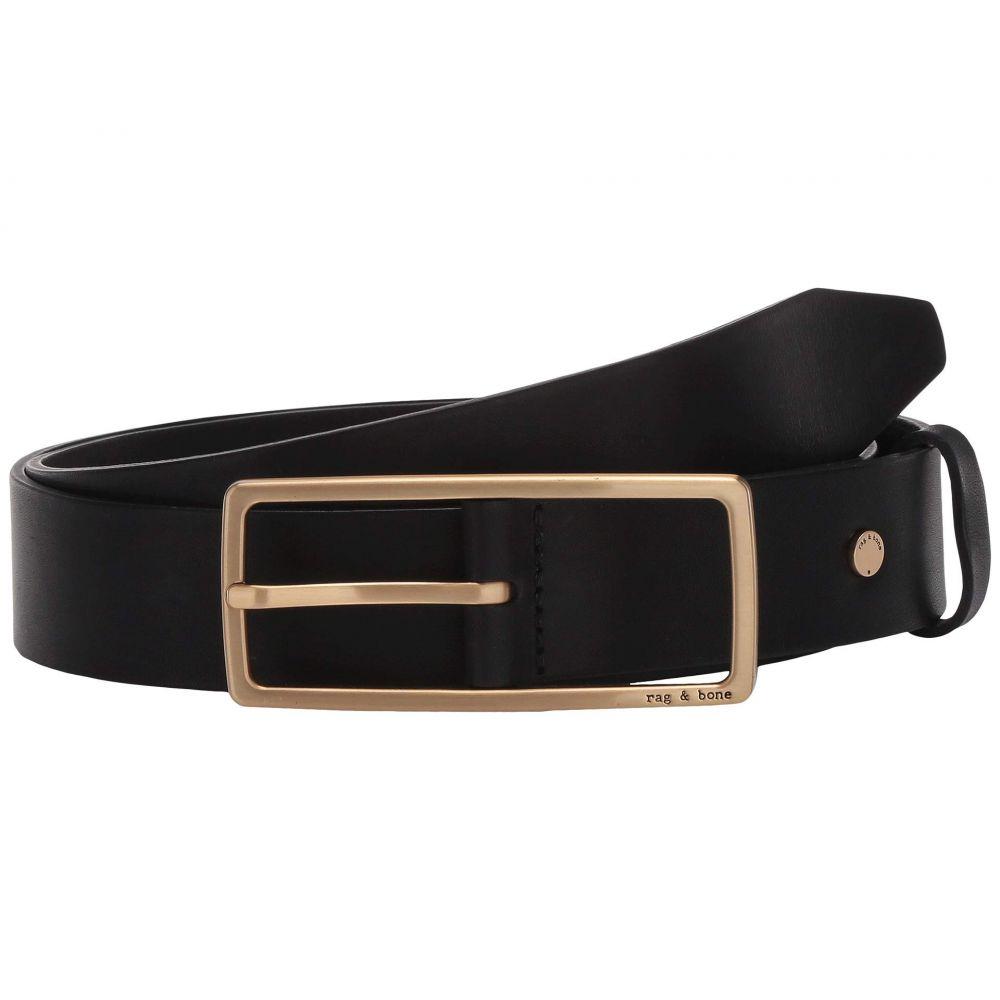 ラグ&ボーン rag & bone レディース ベルト 【Rebound Belt】Black