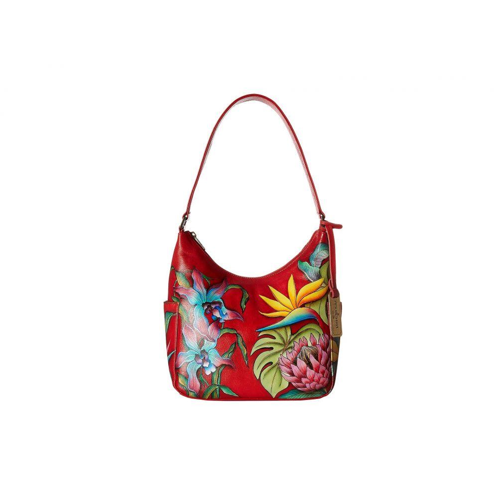 アヌシュカ Anuschka Handbags レディース ハンドバッグ バッグ【382 Classic Hobo With Side Pockets】Island Escape