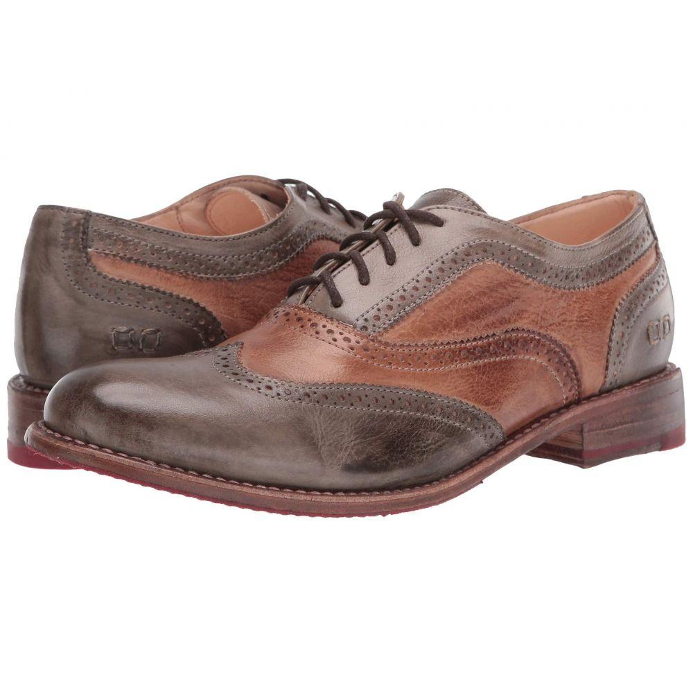 ベッドステュ Bed Stu レディース ローファー・オックスフォード シューズ・靴【Lita】Taupe Tan Rustic