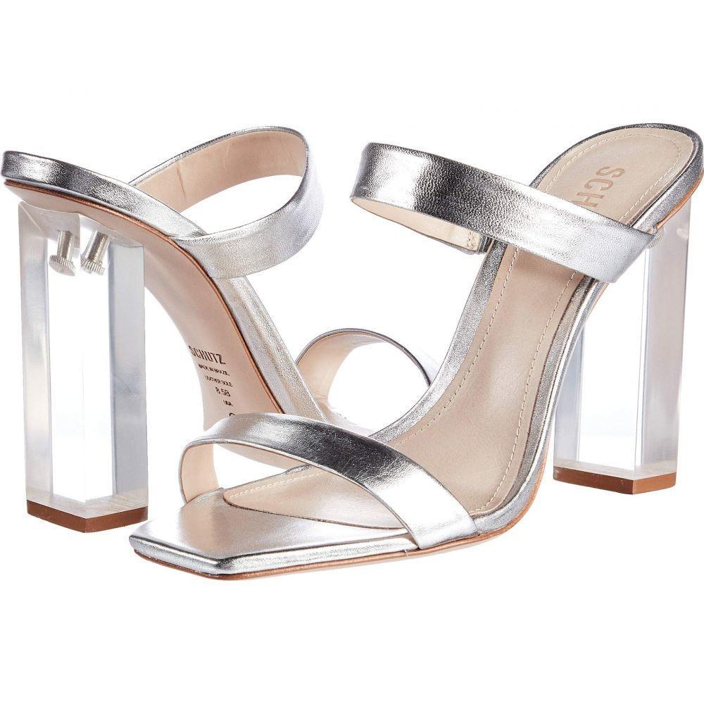 シュッツ Schutz レディース サンダル・ミュール シューズ・靴【Saira】Silver Metallic