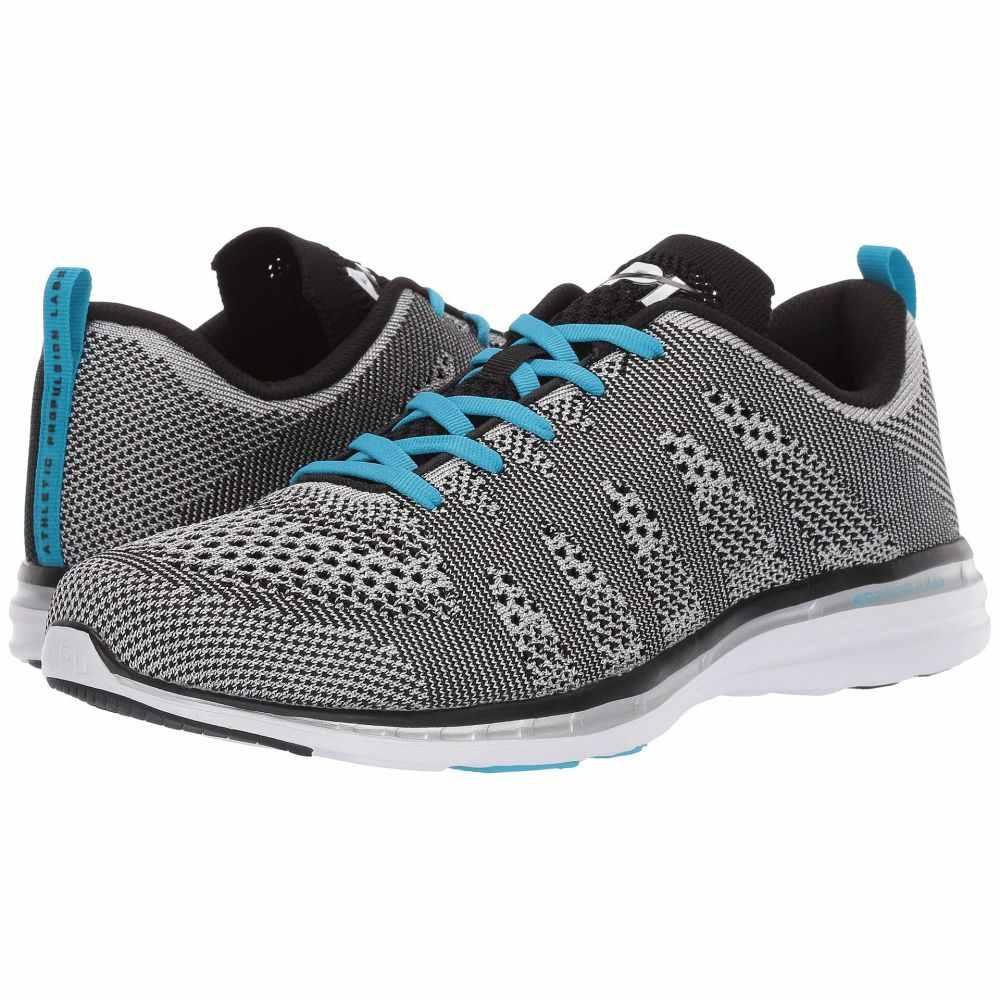 アスレチックプロパルションラブス Athletic Propulsion Labs (APL) メンズ スニーカー シューズ・靴【Techloom Pro】Metallic Silver/Black/Blue Flame
