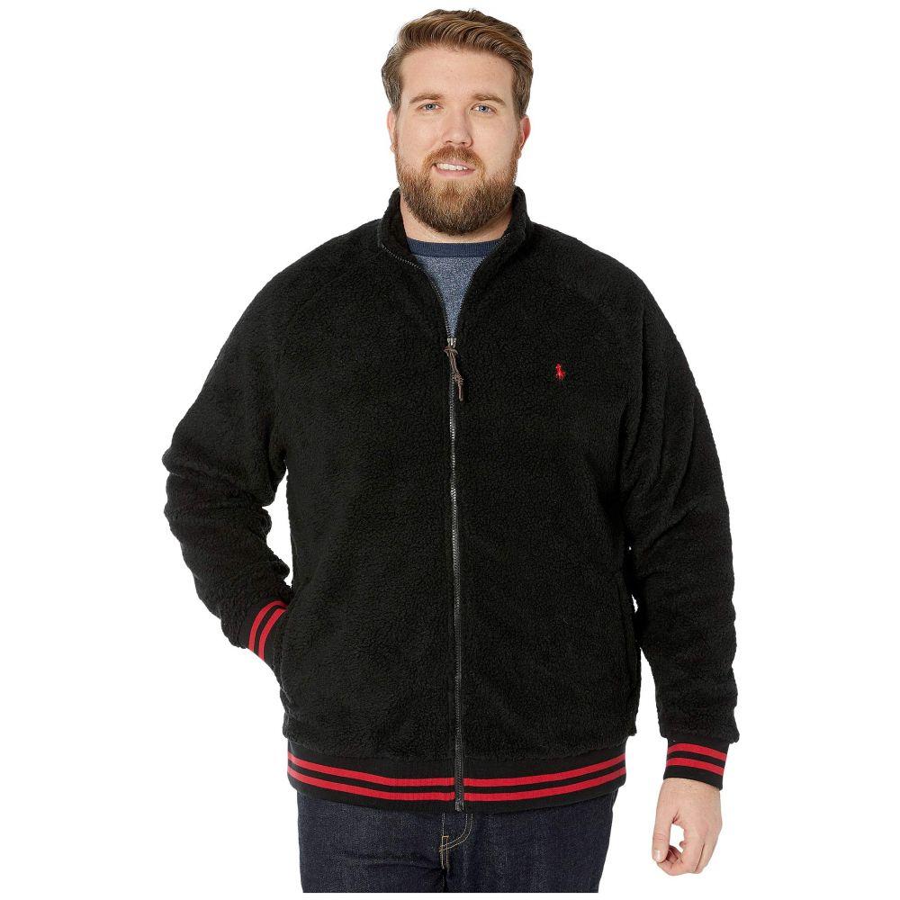 ラルフ ローレン Polo Ralph Lauren Big & Tall メンズ ジャケット 大きいサイズ アウター【Big & Tall Vintage Sherpa Long Sleeve Jacket】Polo Black