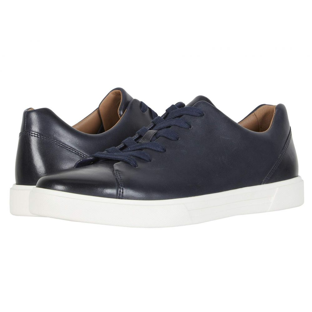 クラークス Clarks メンズ スニーカー シューズ・靴【Un Costa Lace】Navy Leather