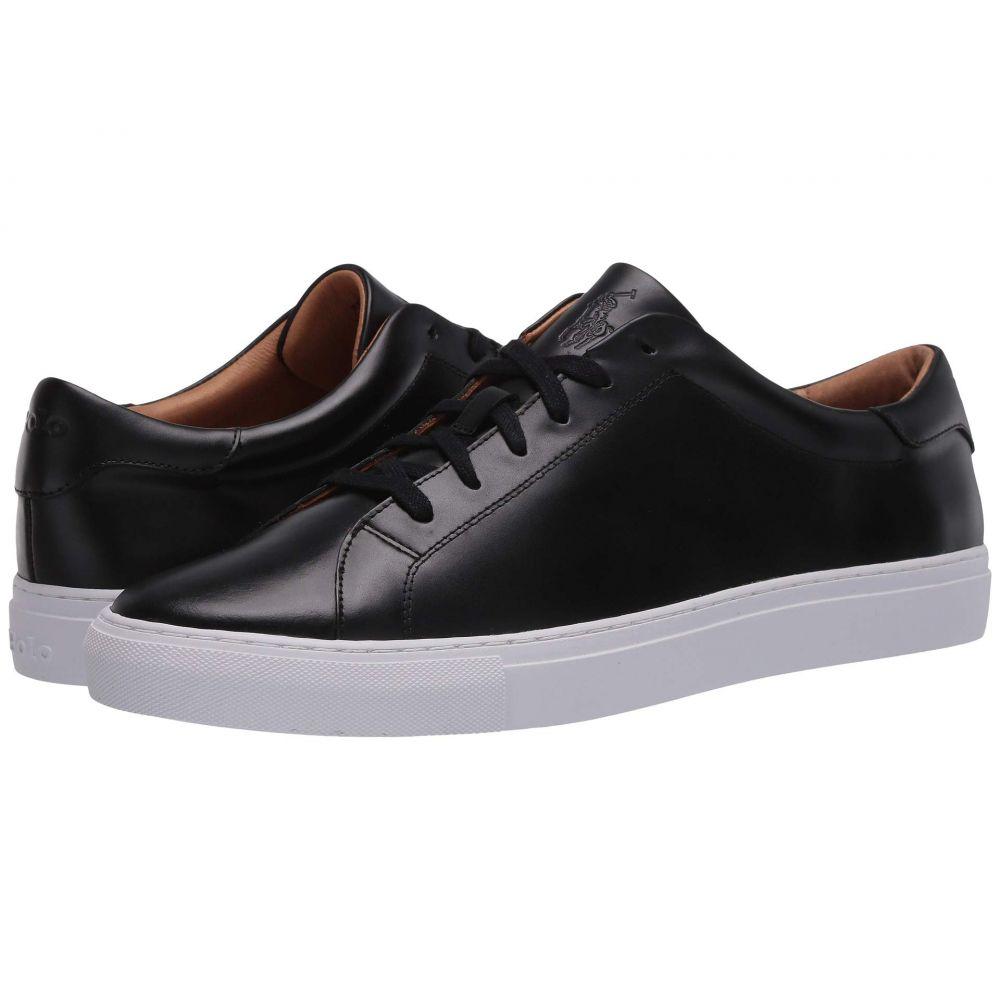 ラルフ ローレン Polo Ralph Lauren メンズ スニーカー シューズ・靴【Jermain II】Black Cloudy Leather