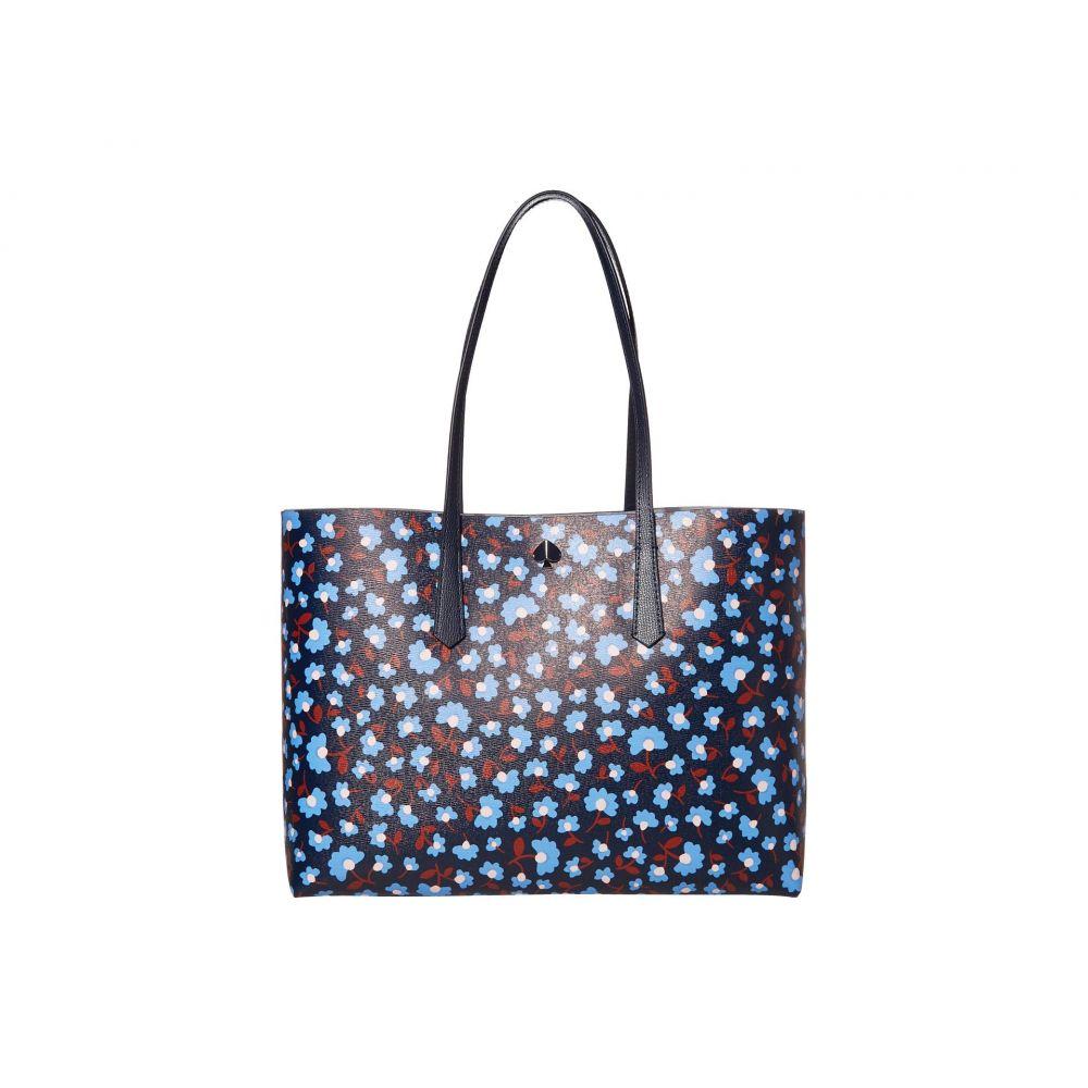 ケイト スペード Kate Spade New York レディース トートバッグ バッグ【Molly Party Floral Large Tote】Blazer Blue Multi
