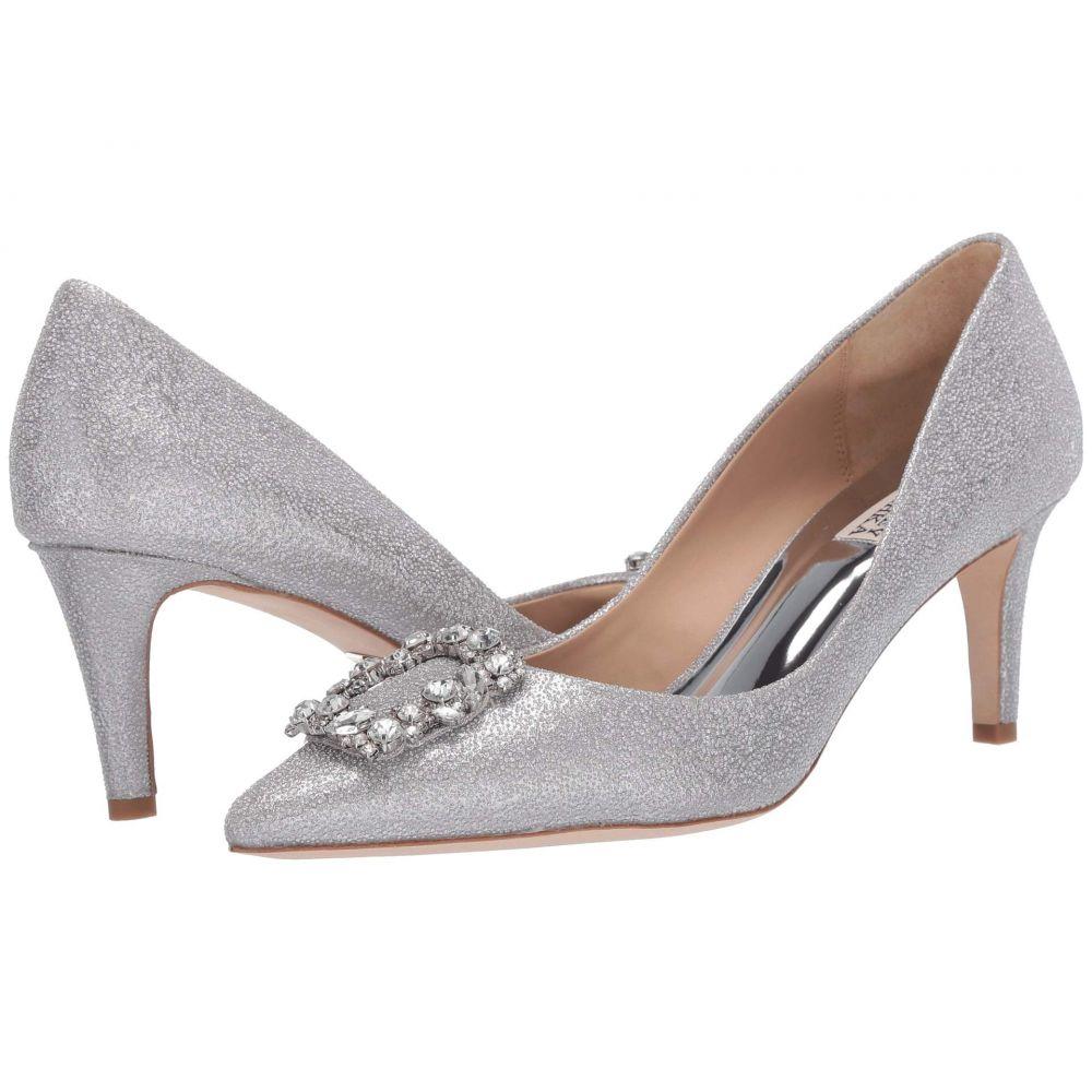 バッジェリー ミシュカ Badgley Mischka レディース ヒール シューズ・靴【Carrie】Silver