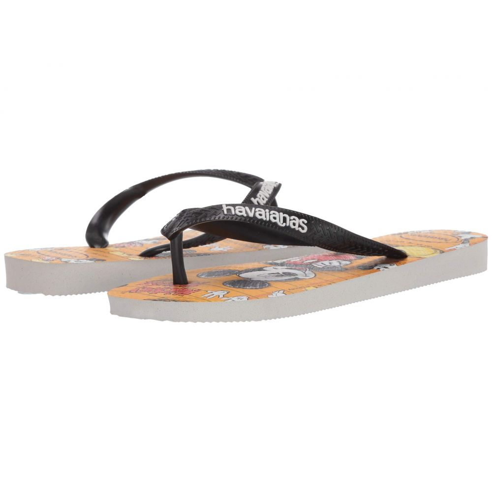 ハワイアナス Havaianas レディース ビーチサンダル シューズ・靴【Disney Stylish Flip Flops】White/Black/White