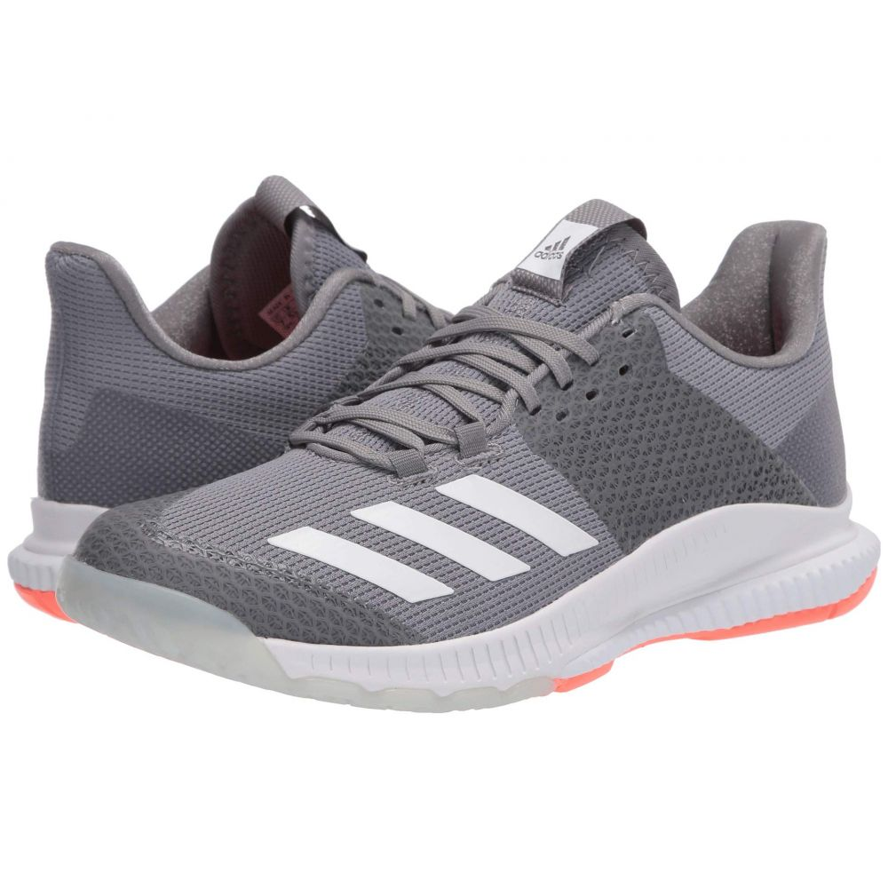アディダス adidas レディース バレーボール シューズ・靴【Crazyflight Bounce 3】Grey Three/Footwear White/Signal Coral