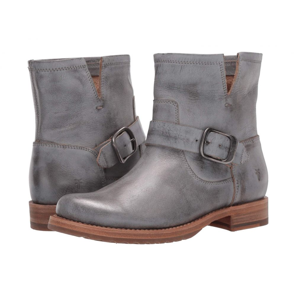 フライ Frye レディース ブーツ シューズ・靴【Veronica Bootie】Silver Sky Brush-Off Metallic