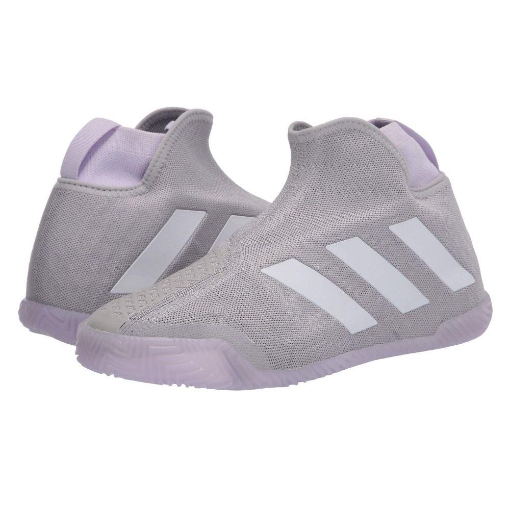 アディダス レディース テニス シューズ・靴 Grey Two/Footwear White/Purple Tint 【サイズ交換無料】 アディダス adidas レディース テニス シューズ・靴【Stycon】Grey Two/Footwear White/Purple Tint