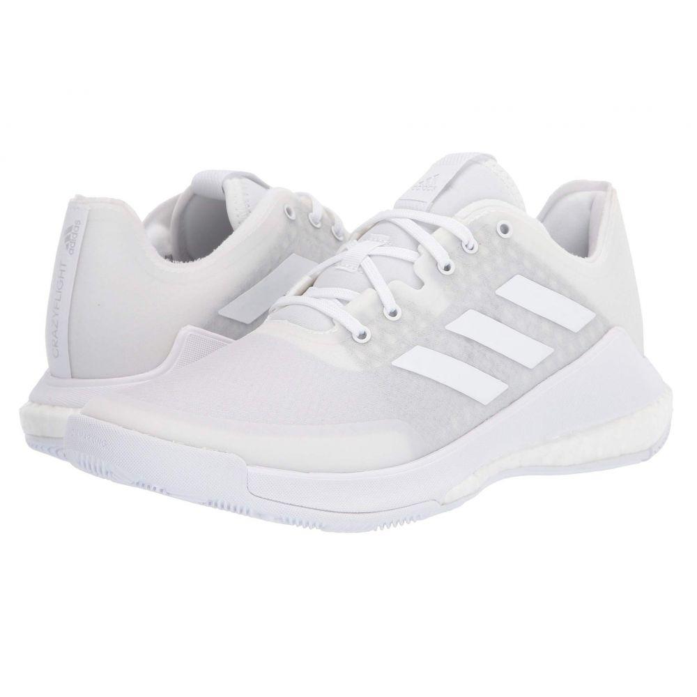 アディダス adidas レディース バレーボール シューズ・靴【Crazyflight】Footwear White/Footwear White/Footwear White