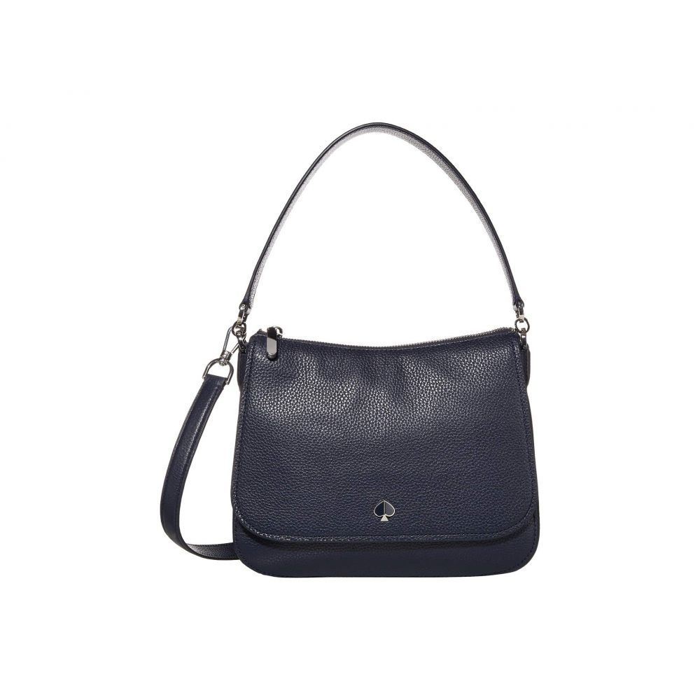 ケイト スペード Kate Spade New York レディース ショルダーバッグ バッグ【Polly Medium Convertible Flap Shoulder Bag】Blazer Blue