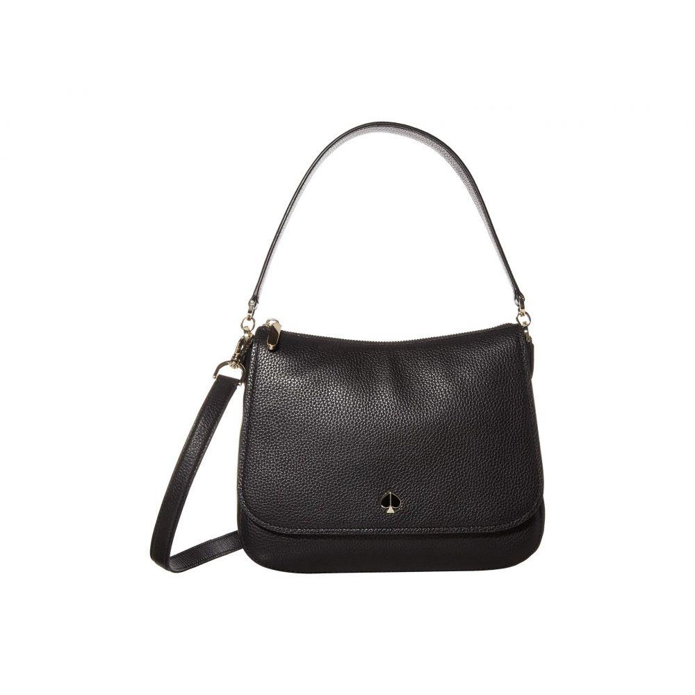 ケイト スペード Kate Spade New York レディース ショルダーバッグ バッグ【Polly Medium Convertible Flap Shoulder Bag】Black