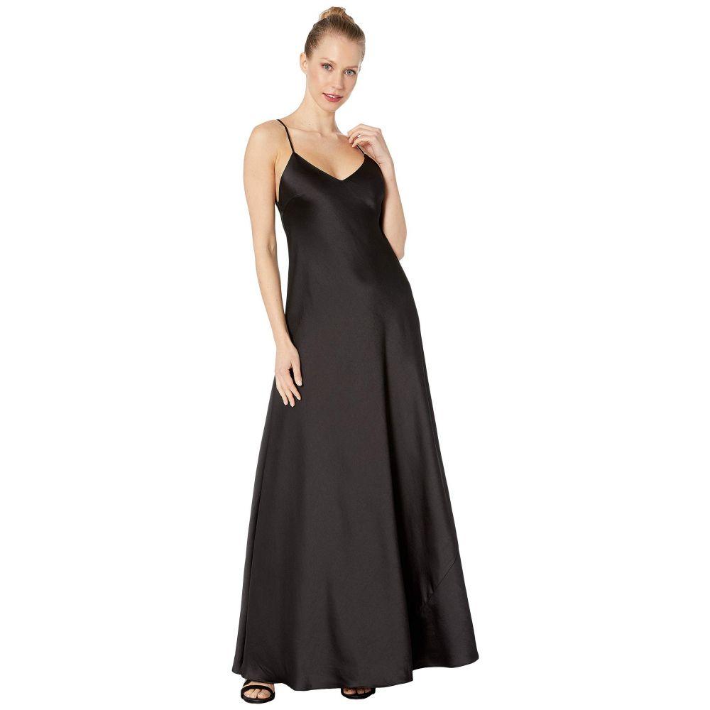 ビーシービージーマックスアズリア BCBGMAXAZRIA レディース パーティードレス Vネック ワンピース・ドレス【V-Neck Gown Dress】Black
