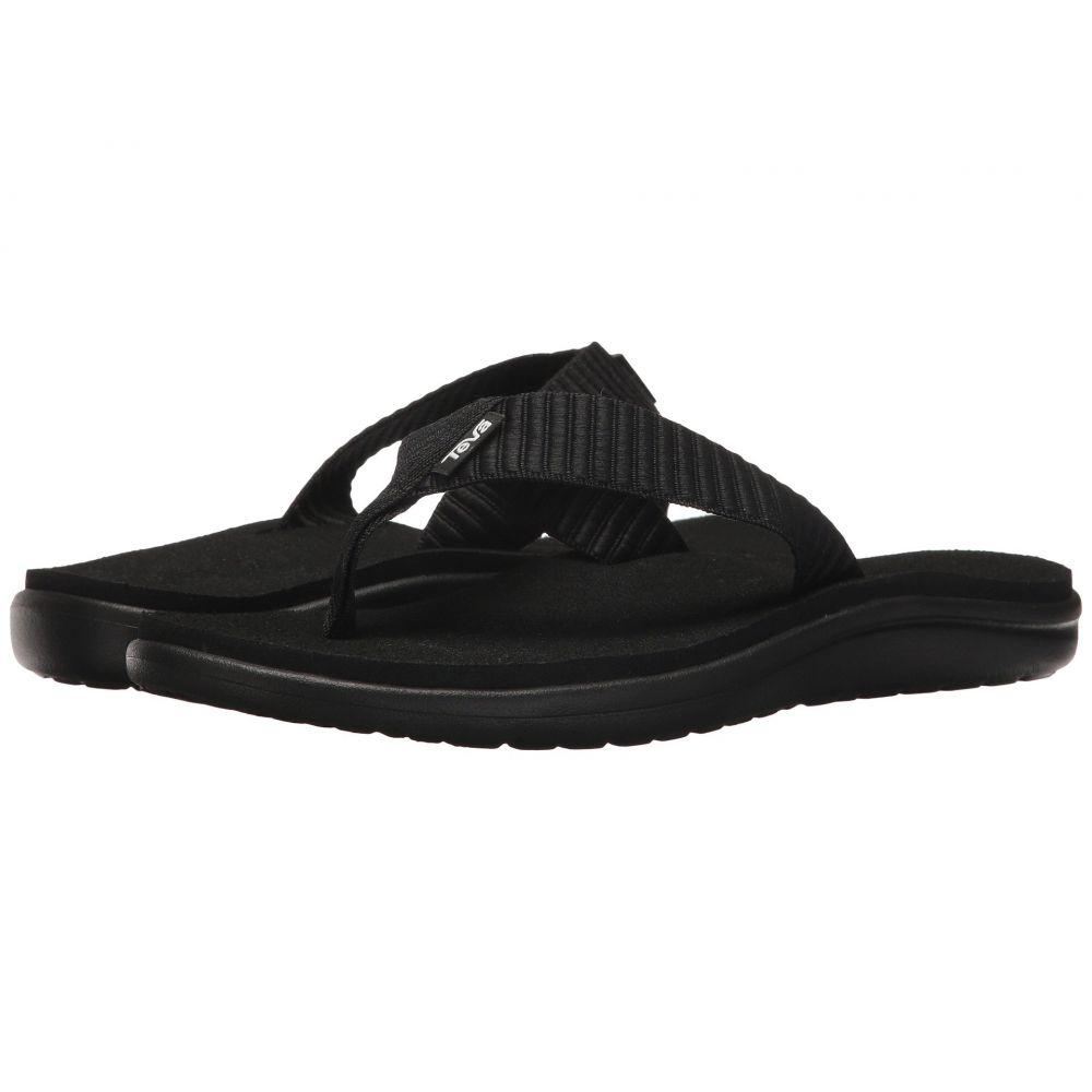 テバ Teva レディース ビーチサンダル シューズ・靴【Voya Flip】Bar Street Black