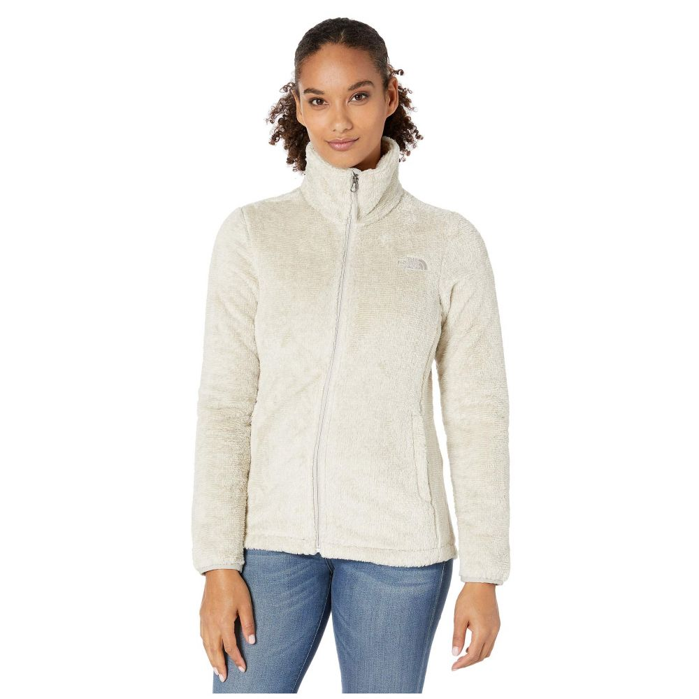 ザ ノースフェイス The North Face レディース フリース トップス【Seasonal Osito Jacket】Vintage White/Peyote Beige Stripe