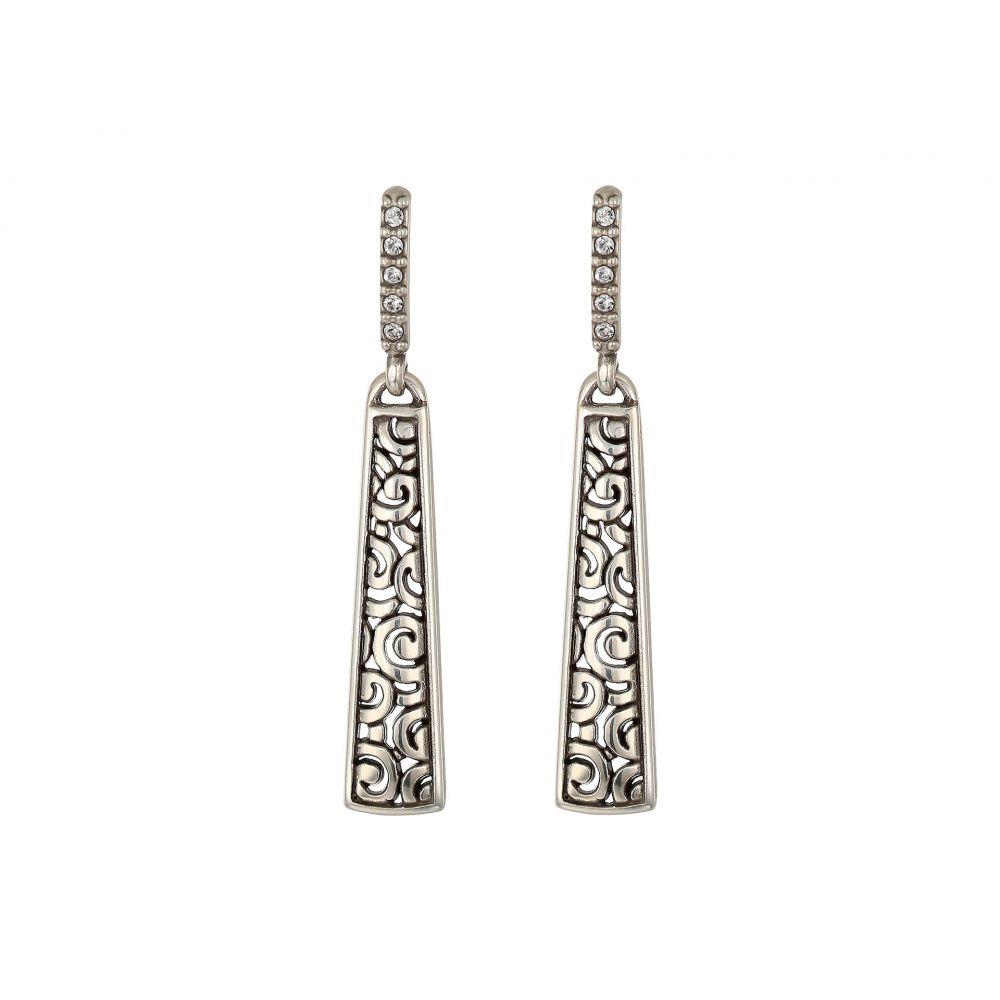 ブライトン Brighton レディース イヤリング・ピアス ドロップピアス ジュエリー・アクセサリー【Deco Luxe Sleek Post Drop Earrings】Silver
