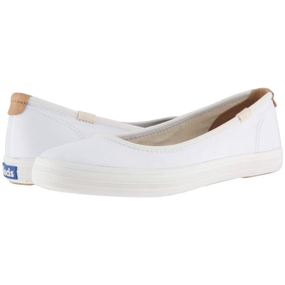 ケッズ Keds レディース スニーカー シューズ・靴【Bryn Twill】White