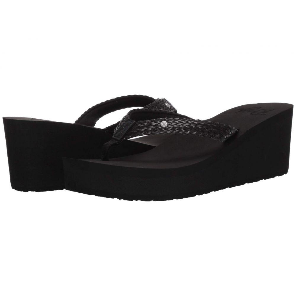 ロキシー Roxy レディース サンダル・ミュール シューズ・靴【Mellie III】Black