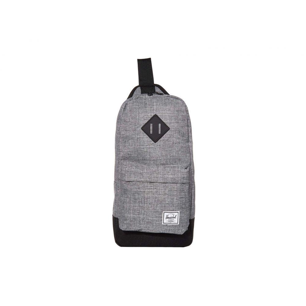 ハーシェル サプライ Herschel Supply Co. レディース ショルダーバッグ バッグ【Heritage Shoulder Bag】Raven Crosshatch/Black