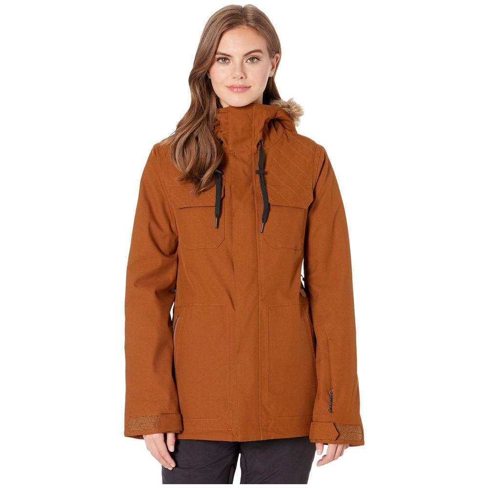 ボルコム Volcom Snow レディース スキー・スノーボード ジャケット アウター【Shadow Insulated Jacket】Copper