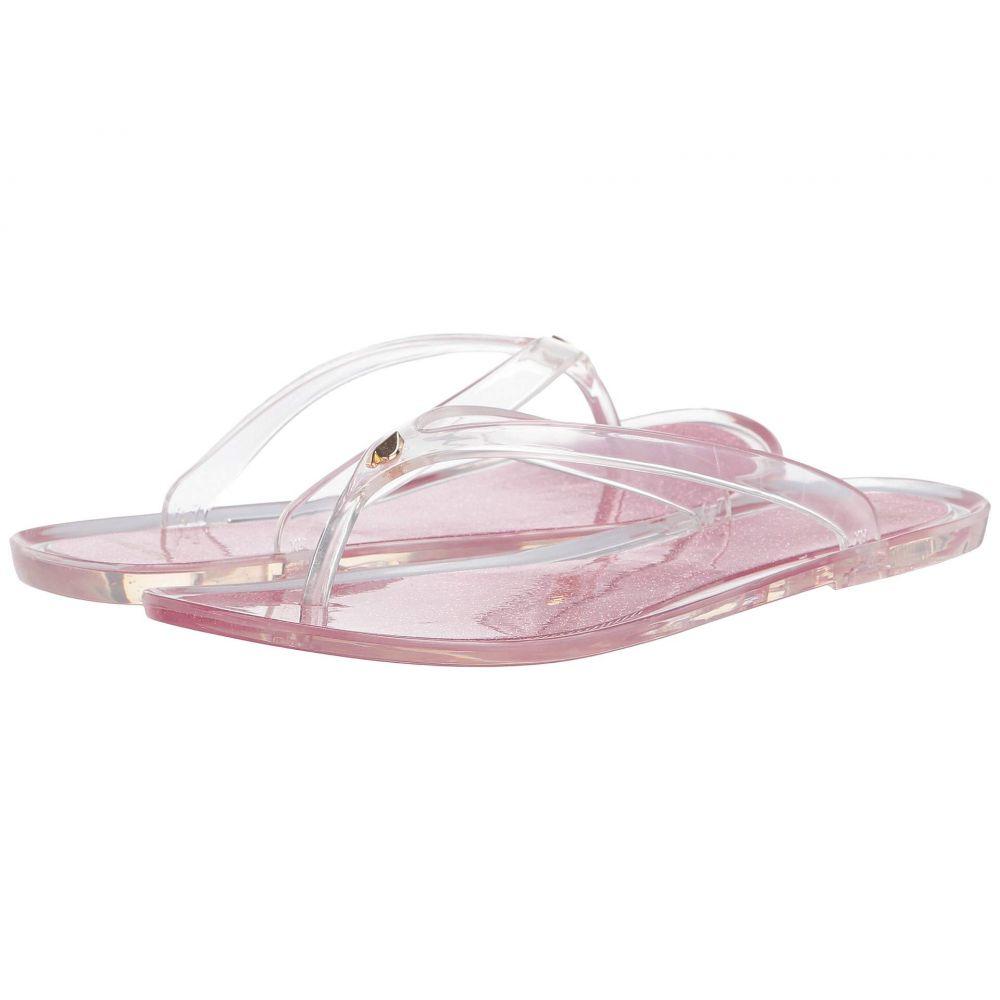 ケイト スペード Kate Spade New York レディース ビーチサンダル シューズ・靴【Jasmine】Clear/Pink Opaline