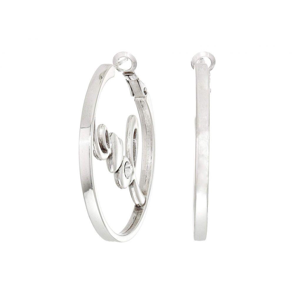 ブライトン Brighton レディース イヤリング・ピアス ジュエリー・アクセサリー【Love You Leverback Hoops Earrings】Crystal