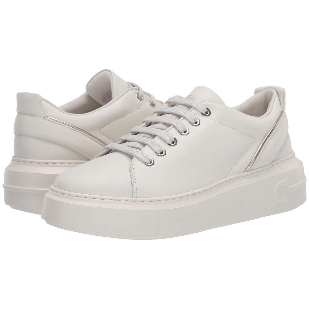 サルヴァトーレ フェラガモ Salvatore Ferragamo レディース スニーカー シューズ・靴【Senise】White Intense/Silver Grey