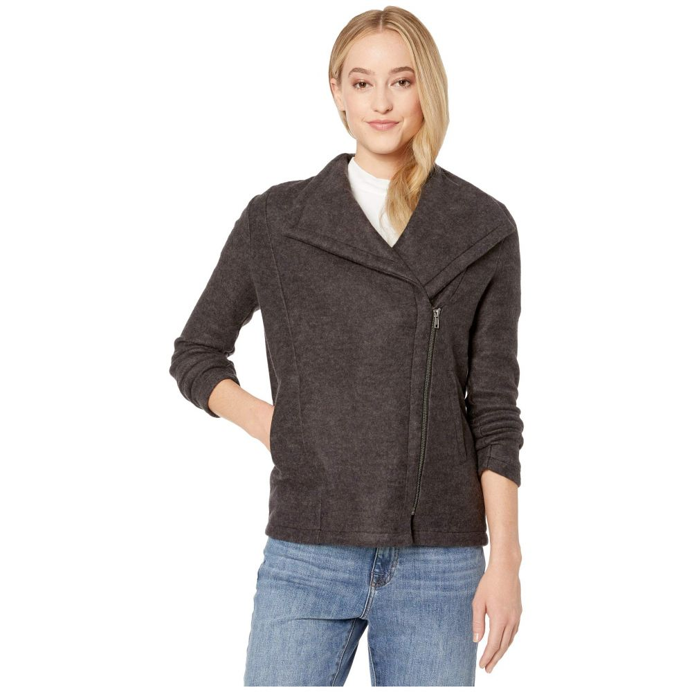 ビービーダコタ BB Dakota レディース ジャケット アウター【Knits Alright Now Brushed Knit Jacket】Charcoal Grey