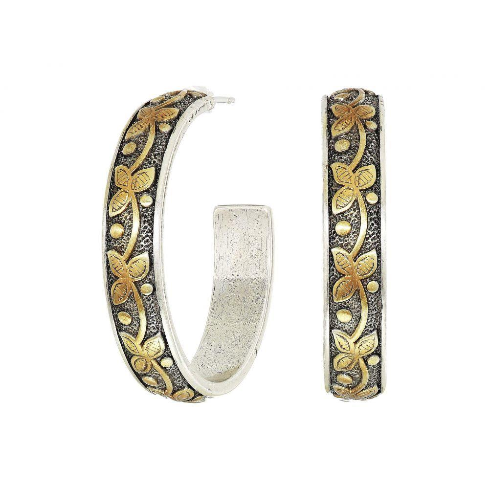 ブライトン Brighton レディース イヤリング・ピアス ジュエリー・アクセサリー【Udaipur Palace Hoop Earrings】Silver/Gold